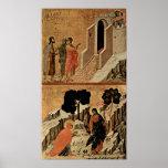 Duccio di Buoninsegna - Christ and Mary Magdalene Poster