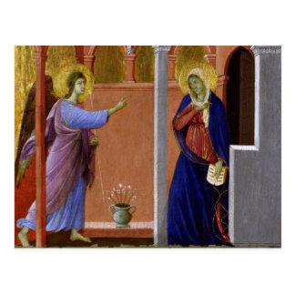 Duccio's Annunciation Postcard