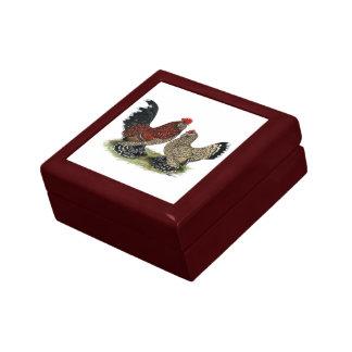 D'Uccle Bantams:  Mille Fleur Gift Box