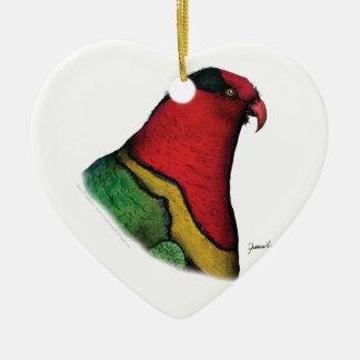 duchess lorikeet, tony fernandes christmas ornament