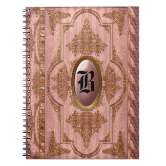 Duchess Marta Victorian Monogram Notebooks