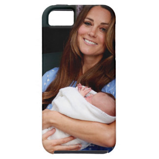 Duchess Of Cambridge Holding Newborn Son 2 iPhone 5 Cases