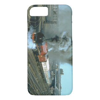 Duchess of Hamilton works the_Steam Trains iPhone 7 Case