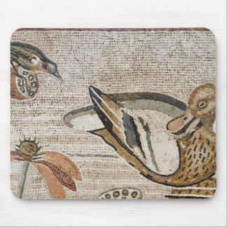 Duck and bird, Nile mosaic, House of the Faun Mouse Pad