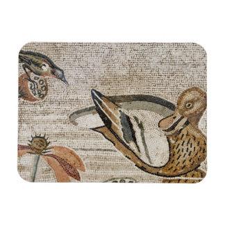 Duck and bird, Nile mosaic, House of the Faun Rectangular Photo Magnet