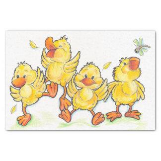 Duck Babies Tissue Paper