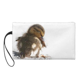 Duck Baby Duckling Bird Wildlife Animal Bag Wristlet Purse