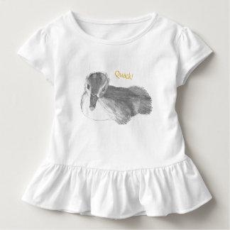 Duck Baby Ruffle Shirt