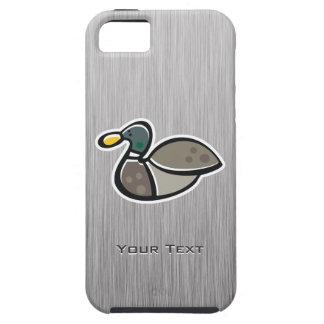 Duck; Brushed metal-look iPhone 5 Cases