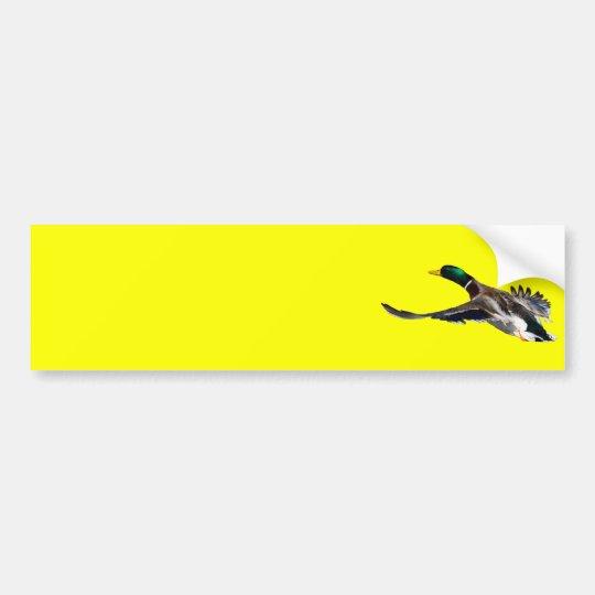 duck bumper sticker