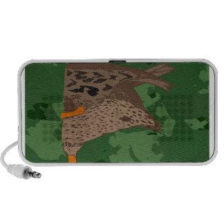 Duck Butt Camo Laptop Speakers