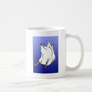 Duck Butt Postage Stamp Basic White Mug