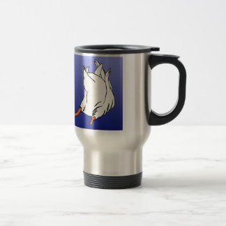 Duck Butt Postage Stamp Stainless Steel Travel Mug