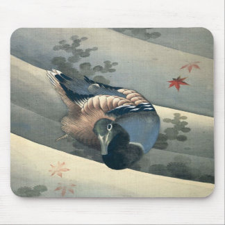Duck by Katsushika Hokusai Mousepad