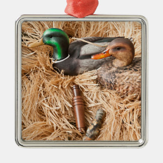 Duck Call Mallard Drake Hunting Hunters Ornament