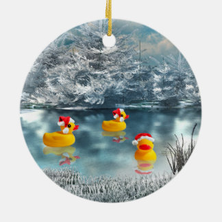 Duck Christmas Christmas Ornament