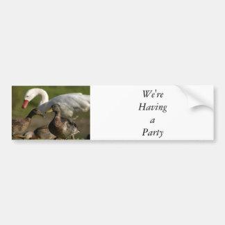 Duck Convention Bumper Sticker