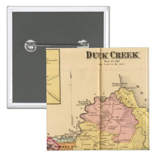 Duck Creek 15 Cm Square Badge