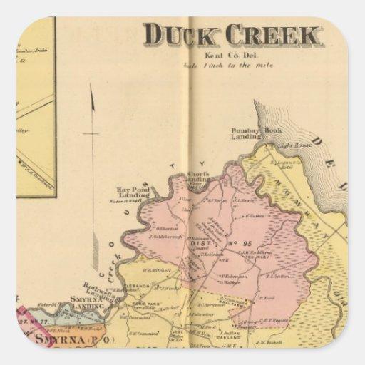 Duck Creek Sticker