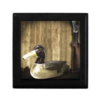 Duck Decoy Keepsake Box