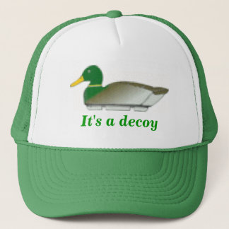 Duck Decoy Trucker Hat