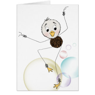 Duck Does Its Happy Dance Greeting Card