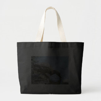 Duck Drinking Water Jumbo Tote Bag