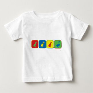 Duck Duck Duck Goose Pop Art Baby T-Shirt