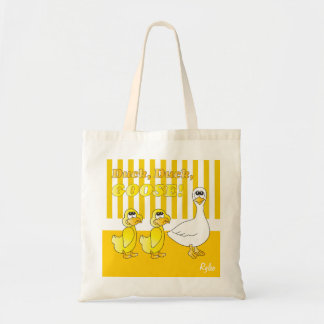 Duck Duck Goose Nursery Theme Canvas Bags