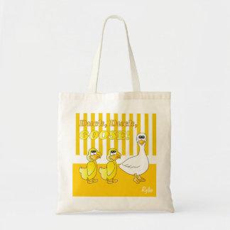 Duck, Duck, Goose Nursery Theme Canvas Bags