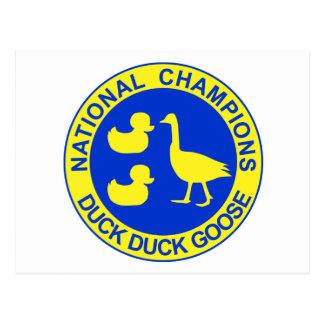 Duck Duck Goose Postcard