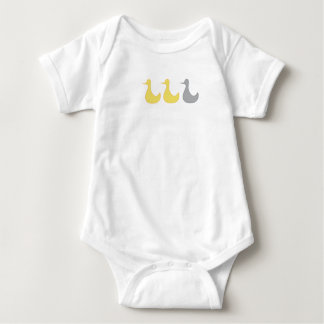 Duck Duck Gray Duck products Baby Bodysuit