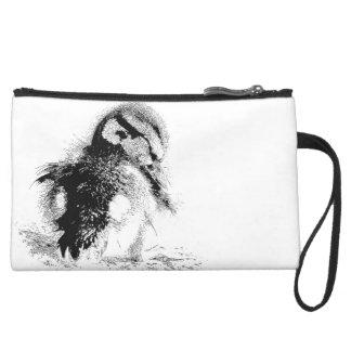 Duck Ducklings Baby Bird Wildlife Animal Bag Wristlet Purse