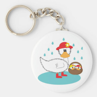 Duck Ducklings Keychains