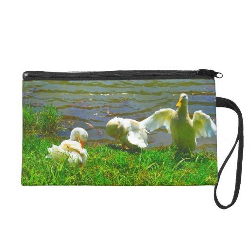 Duck Family Wristlet