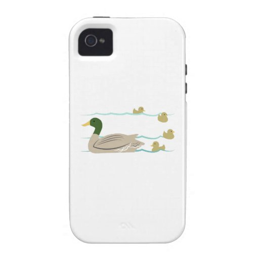 Duck Family iPhone 4/4S Cases