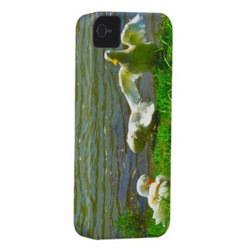 Duck Family Case-Mate iPhone 4 Case