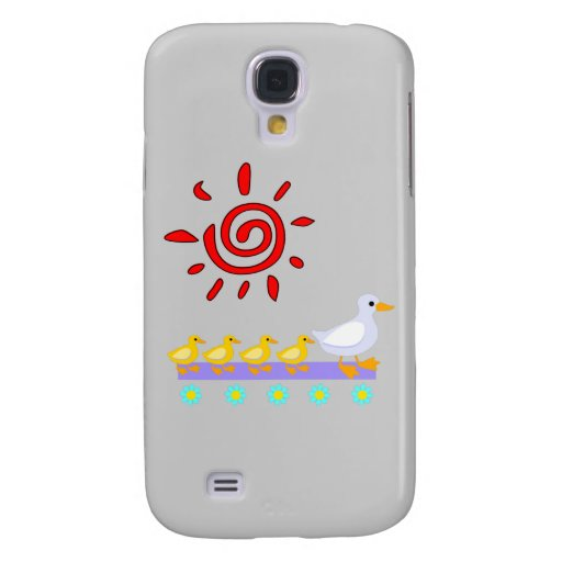 Duck Family Galaxy S4 Case