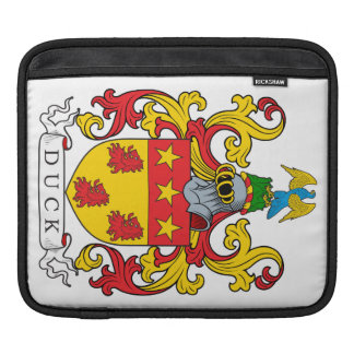 Duck Family Crest Sleeve For iPads