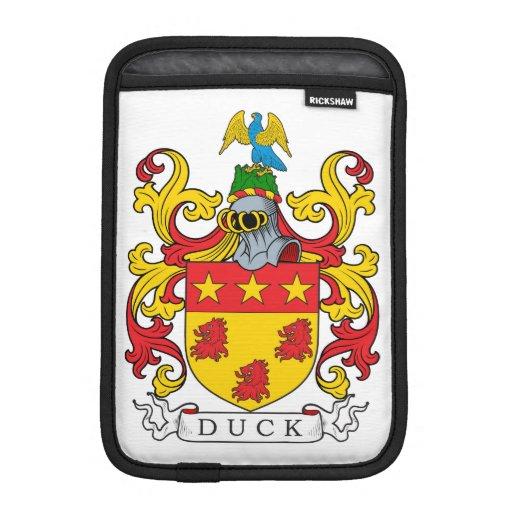 Duck Family Crest Sleeve For iPad Mini
