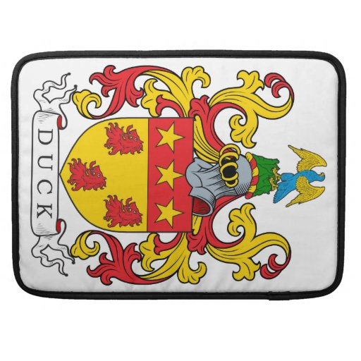 Duck Family Crest Sleeve For MacBook Pro