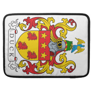 Duck Family Crest Sleeves For MacBook Pro