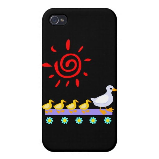 Duck Family Case For iPhone 4
