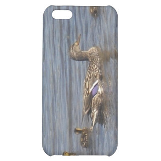 Duck Family iPod G4 Cover iPhone 5C Case
