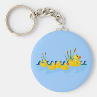Duck Family Keychains