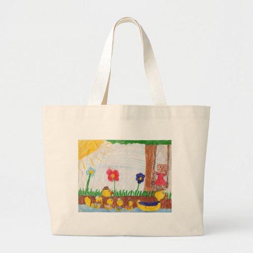 Duck Family & Kitty Cat Bag