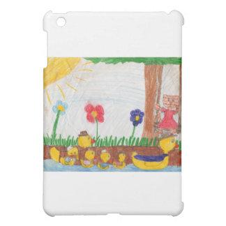 Duck Family & Kitty Cat iPad Mini Cover