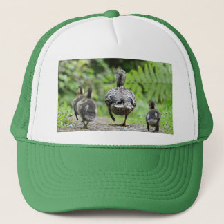 Duck Family Trucker Hat