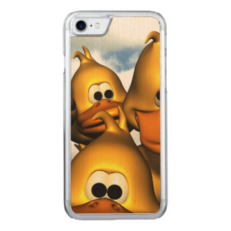 Duck Gathering Carved iPhone 7 Case