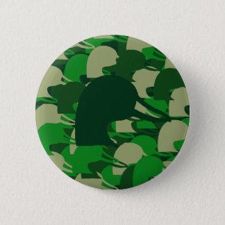 Duck Head Camo 6 Cm Round Badge